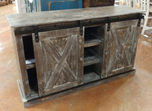 Barter Post - Barn Wood Gray Cabinet Rainsville AL