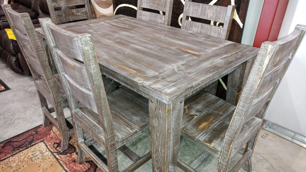 Barter Post - Barnwood Dining Set Rainsville AL