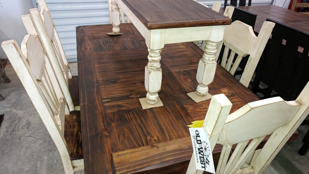 Barter Post - White Wash Dining Set Rainsville AL
