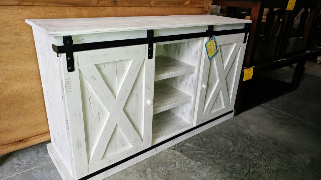 Barter Post - Barn Door X Cross Cabinet Rainsville AL
