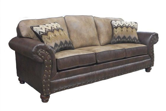 Old West Furniture - Padma Otter Sofa